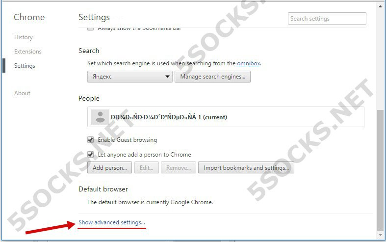 How to set up proxy socks in Browsers FireFox/Opera/IE/Chrome