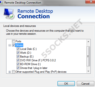 How to use RDP + socks 5 proxy - Instruction - Manual
